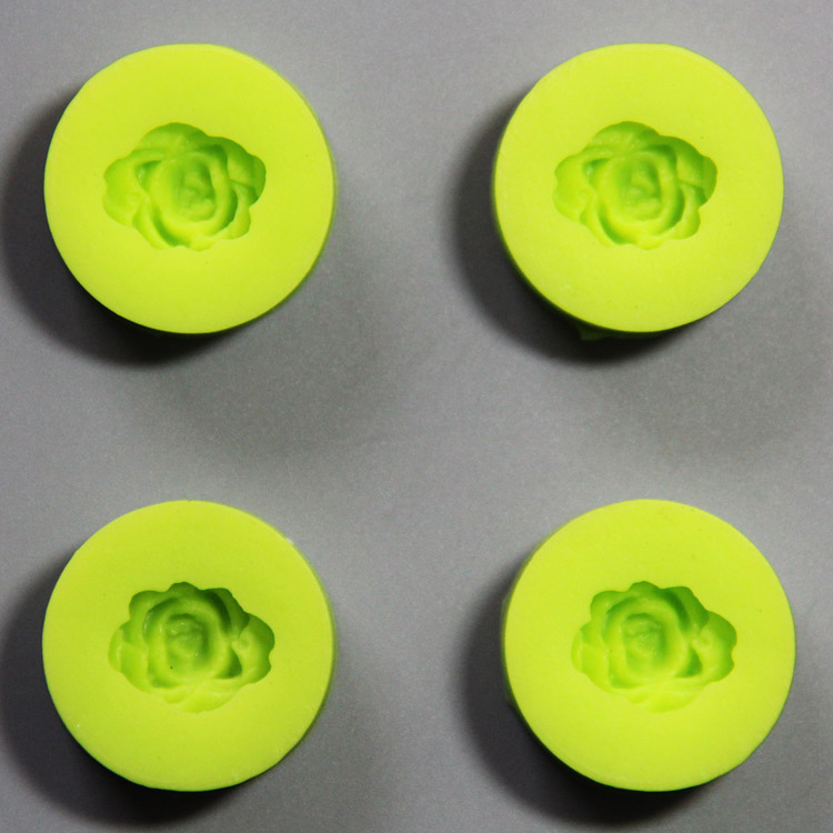 HB0832 3D mimi flowers cake decoration silicone mold set with high quality