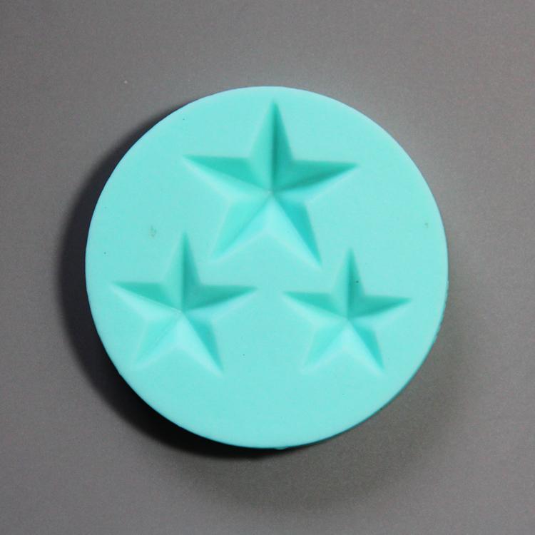 HB0778 4pcs photo frame silicone mold for cake fondant decorating