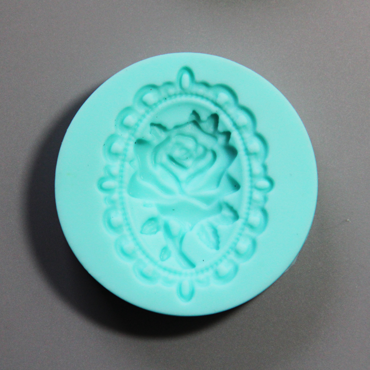 HB0779  4pcs heart envelop silicone mold for cake fondant decorating
