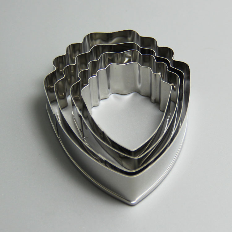 HB0958 4pcs stainless steel carnation cake cutter for cake decoration