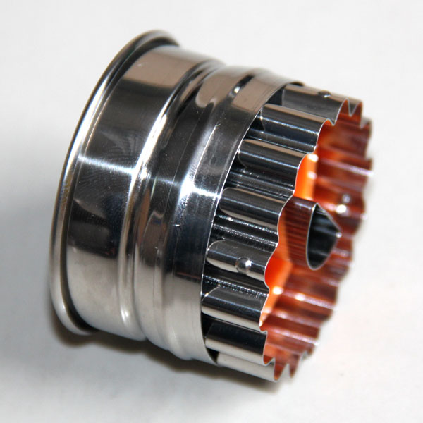 HB0428 Metal Semicircle Cutout Plunger Cutter Mold
