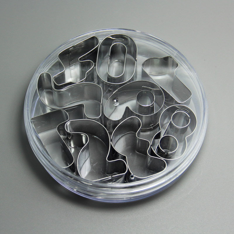 HB0216 Number cookie cutter,cake decorations,cake molds,pastry tools,baking tools