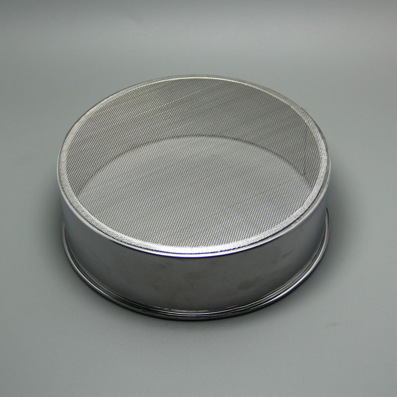 15cm stainless steel 40 mesh sieve flour sieve sugar circular powder manual sieve baking tool