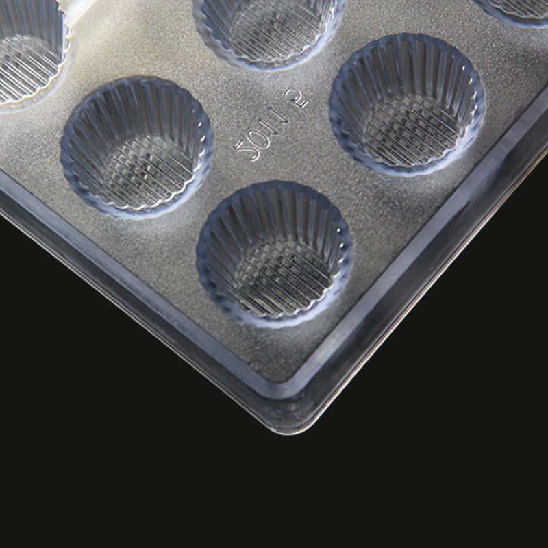 CC0015 Polycarbonate Cupcake Shape Chocolate Mould DIY Baking Mold