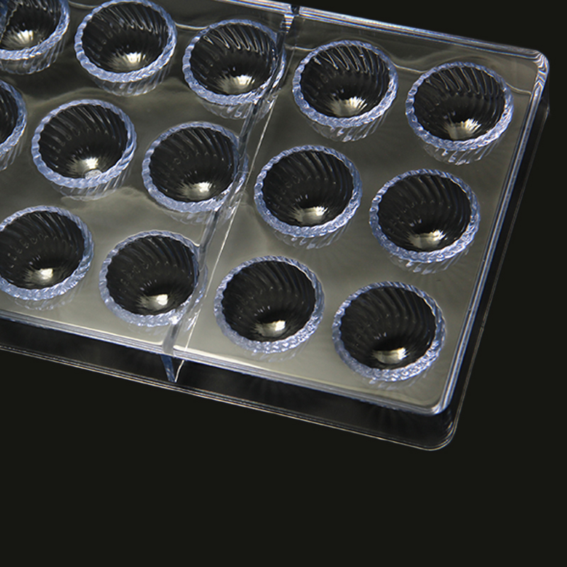 CC0016 Polycarbonate Calliopsis Shape Chocolate Mould DIY Baking Mold