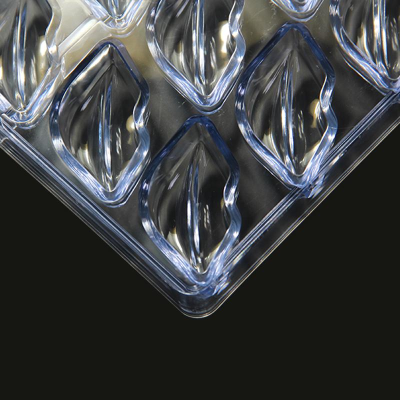 CC0020 Polycarbonate Lip Shape Chocolate Mould DIY Baking Mold
