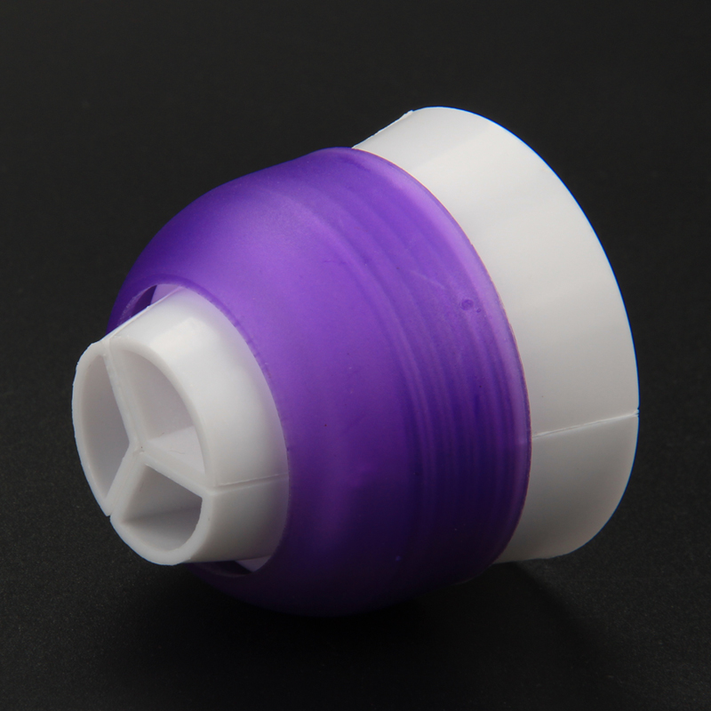 HB0227TP    Plastic Swril 3-Color Cake Decorating Coupler