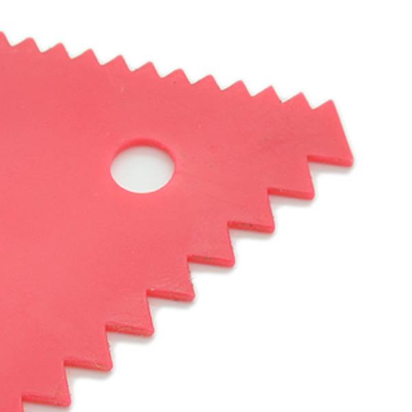 HB0260 plastic cake icng scraper triangle scraper pastry baking tool