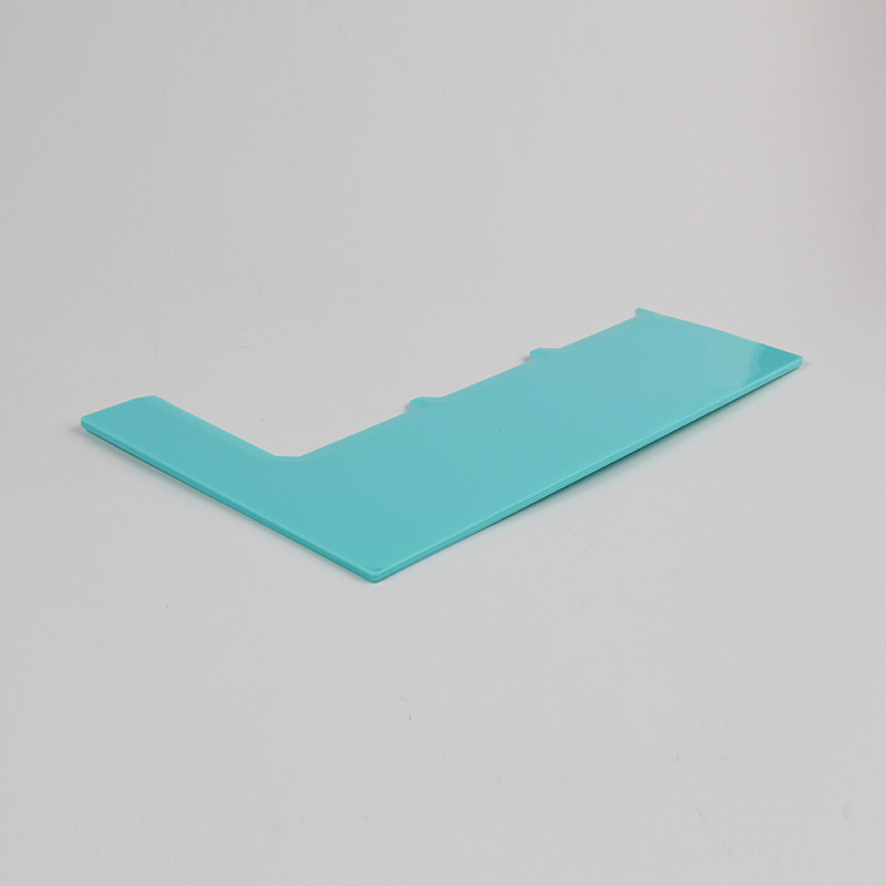 HB0266G Plastic Vertical Serrated Layered Cake Scraper(3 layers)