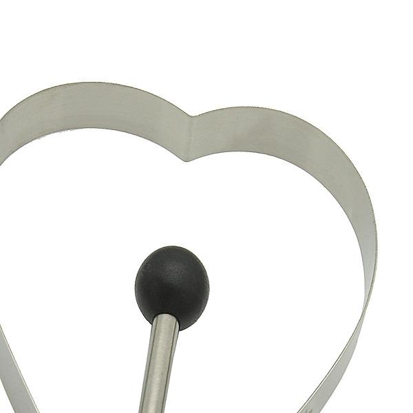 HB0266 Heart shape Fried egg uternsil,baking accessories,baking&pastry tools