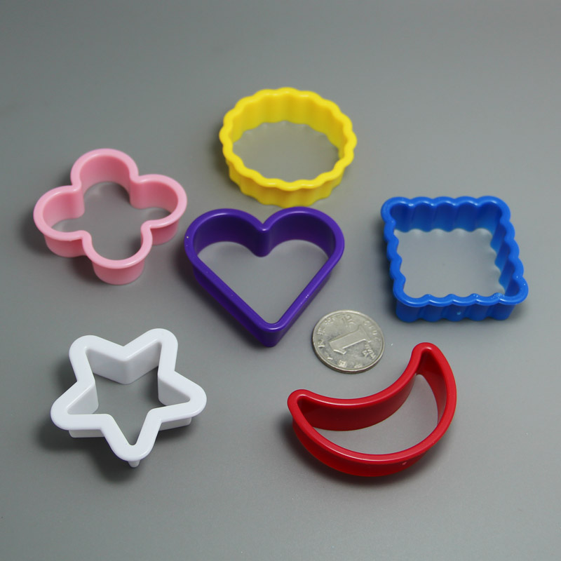 HB0301 Plastic Donut Pie Muffin Cookie Cutter Mold