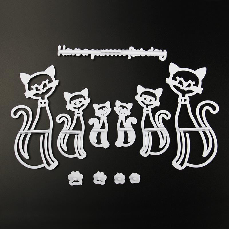 HB0311C Plastic Cat Shape Press molds set