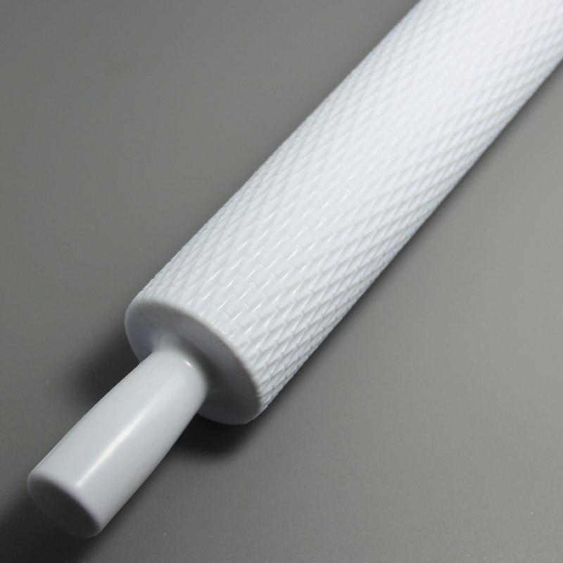 HB0330  Plastic Mesh Pattern Fondant Rolling pin