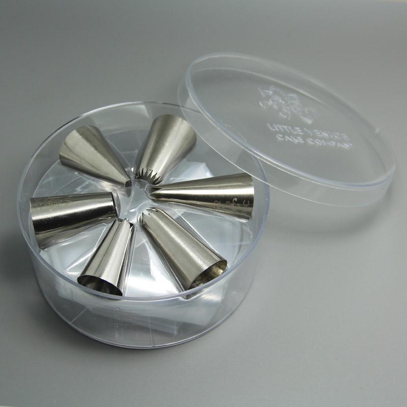 HB0343 High Quality 6pcs Cupcake Nozzles Kit