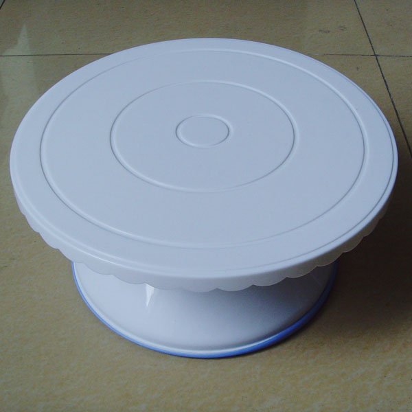 HB0365   Plastic Titing Cake Turntable(29x13.6 cm)