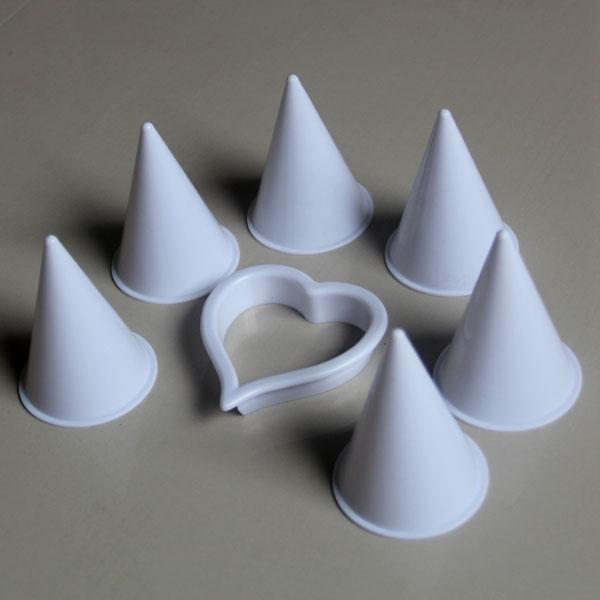 HB0452 Plastic Calla Lily Fondant Decorating Tools Set