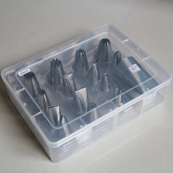 HB0479-16pcs Mixed Piping Nozzle Set