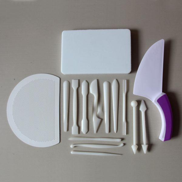 HB0523 Plastic Fondant & Gum Paste Tools set