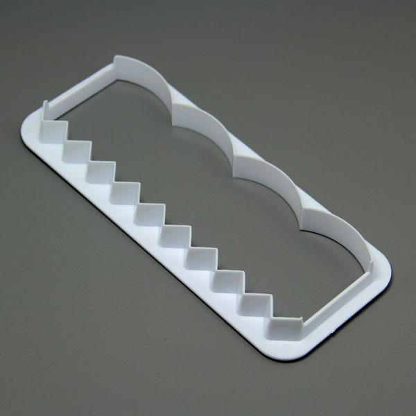HB0530 Edge Decorator For Cake Fondant Tool Paste Cutter  fondant embosser