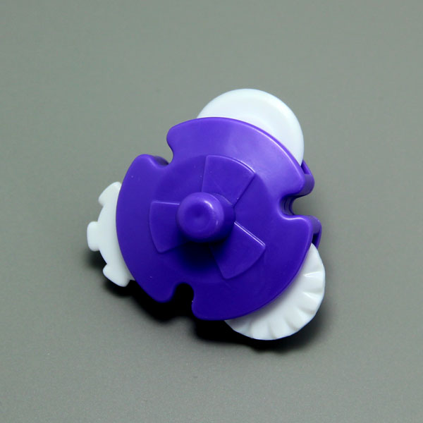 HB0592 Plastic Cake Fondant Decorating Wheels roll wheel fondant tool