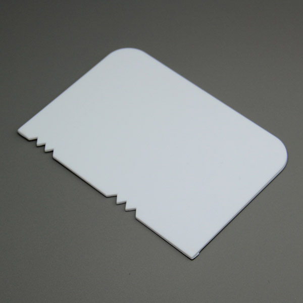 HB0601 Patterned Edge Side Scraper/Cake Decorating Combs