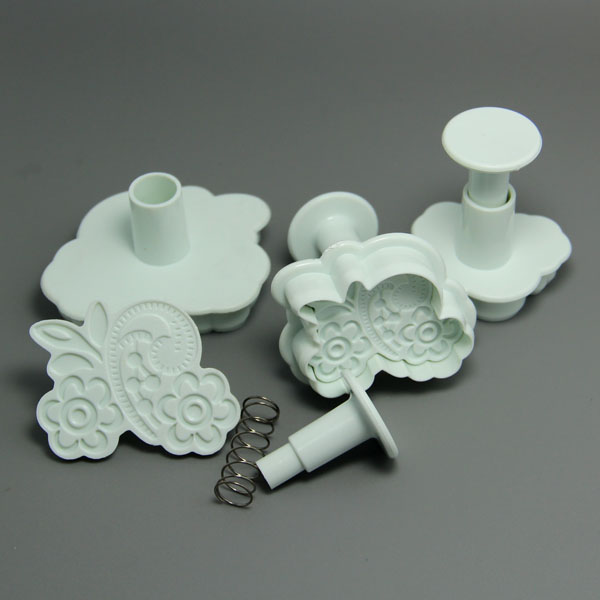 HB0610 Sea-plant Plunger Cutters cookie cutters set chocolate mold