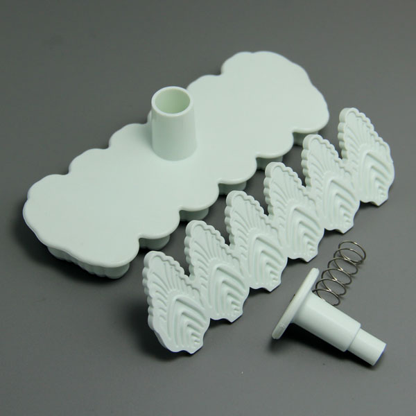 HB0615 Forest Shape Plunger Cutter set cookie cutter cake decoration mold