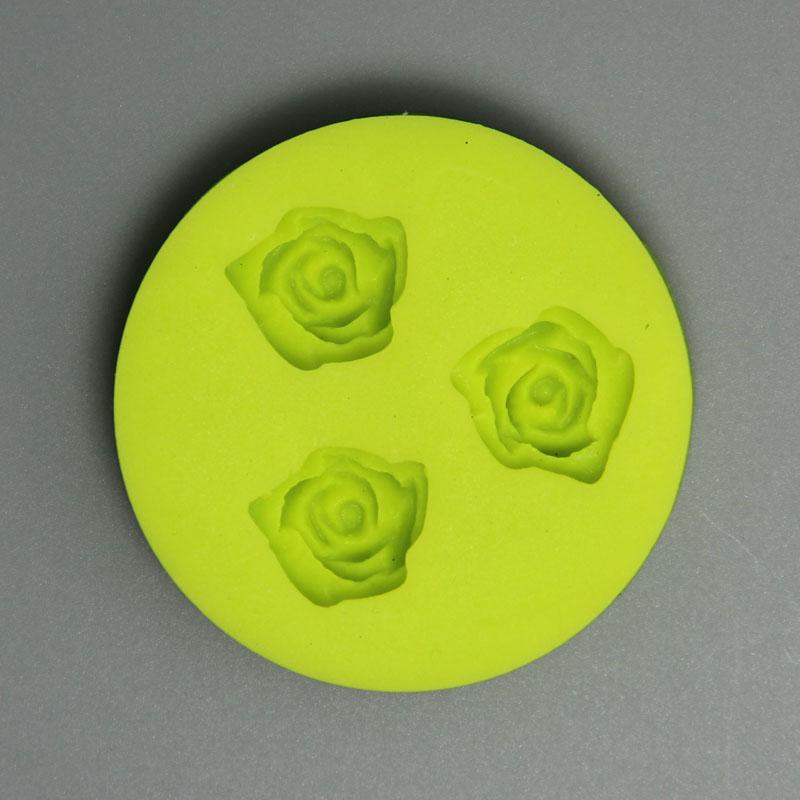 HB0639 Small Rose Silicone Fondant Mold,Silicone Cake Fondant Mold