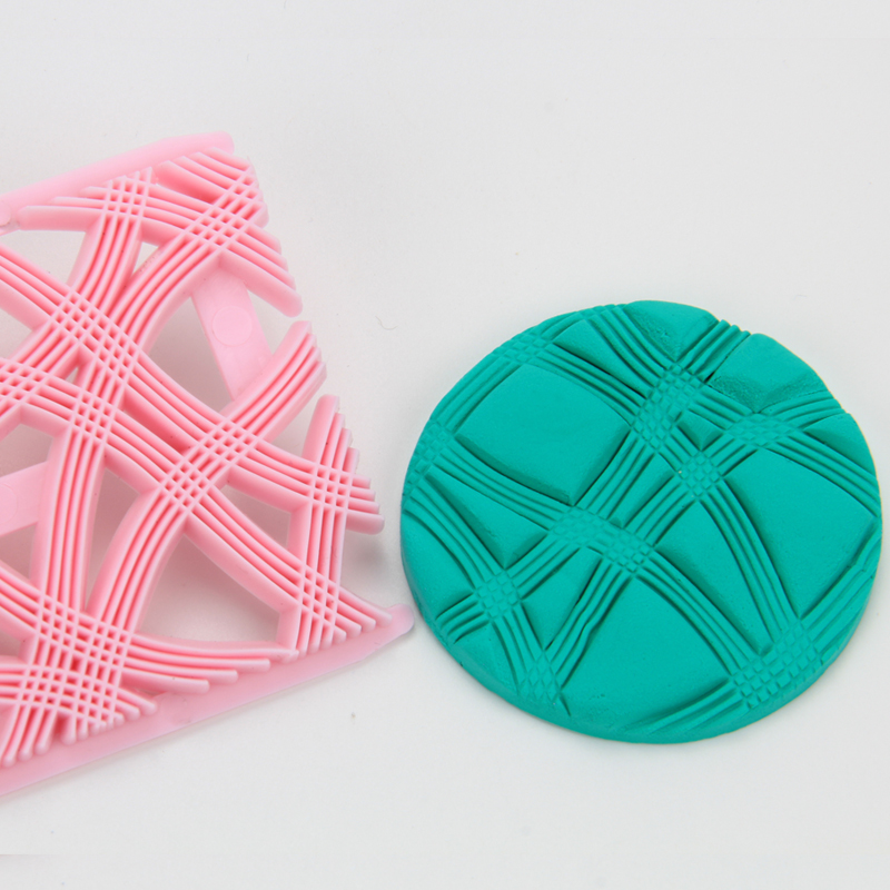HB0687I  New design lace shape fondant cookie embosser