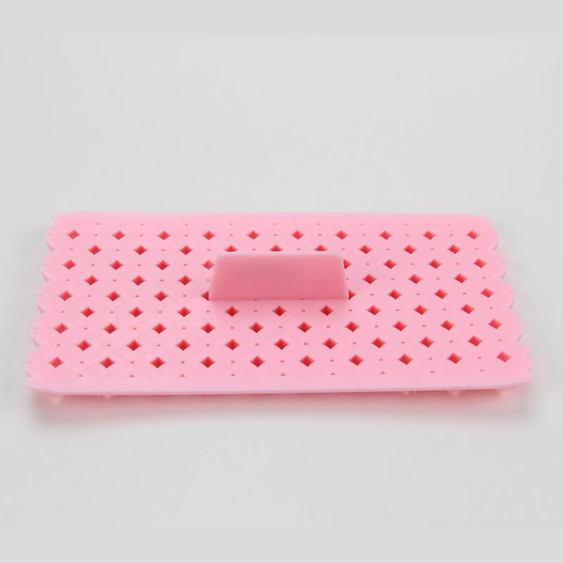 HB0687K  Plastic square shape fondant cookie embosser cutter mold