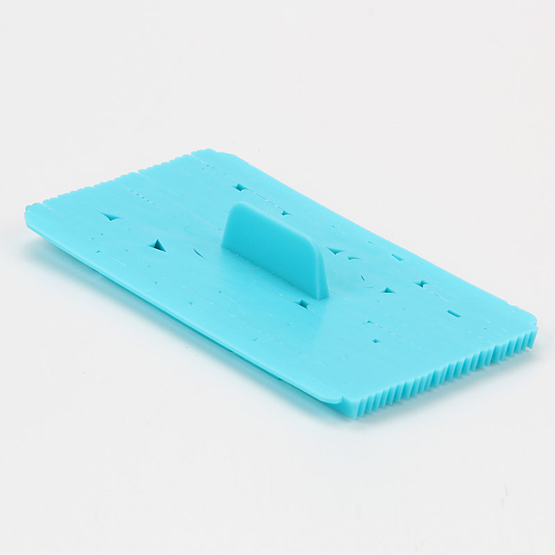 HB0687N New design tree bark shape fondant cookie embosser cutter mold