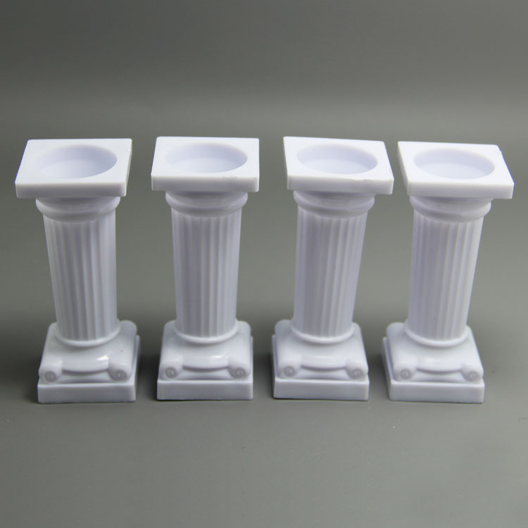 HB0960 4pcs Rome column cake decorating fondant mold
