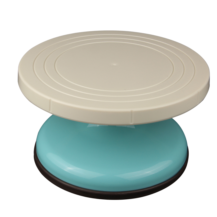 HB0990 Plastic 8.9''x5.9'' cake stand for wedding cake decoration