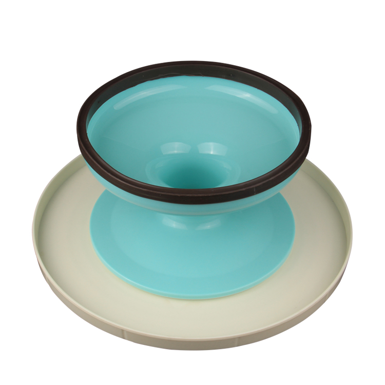 HB0991 Plastic 10.4''x5'' cake stand for cake decoration