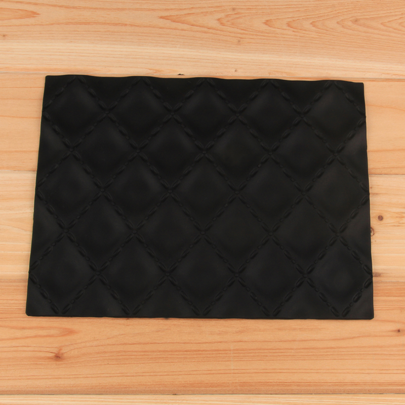 HB1030  Diamod matelasse silicone texture mat for cake decoration