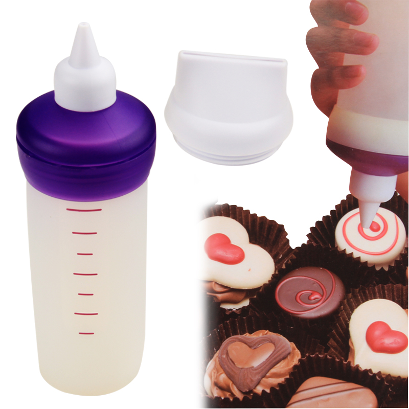 HB1061  silicone bottle candy melt decorating tip set