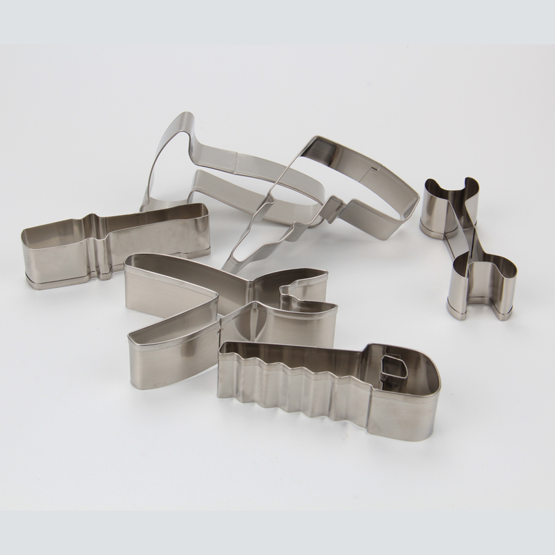 HB1080  Stainless steel 6pcs Household tools cookie cutters set