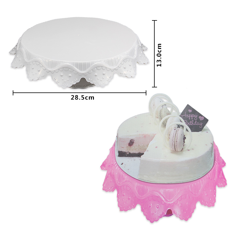 HB1092A Plastic Cake Turntable For Wedding/Party