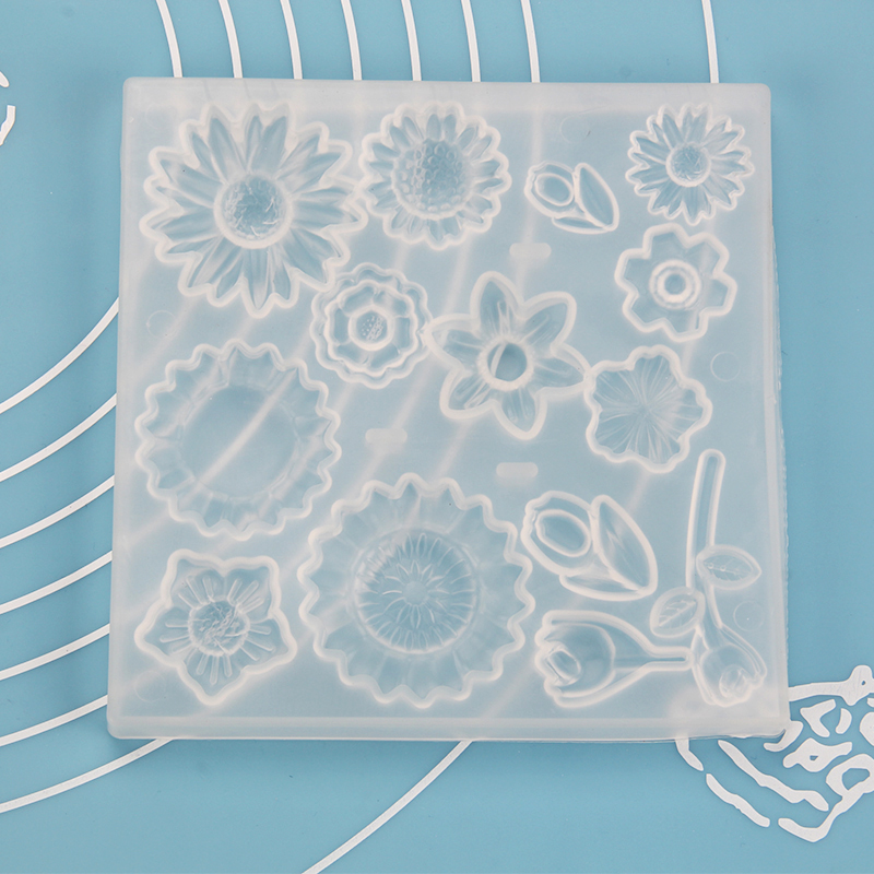 HB1097F Silicone Flower Pattern Fondant Mold