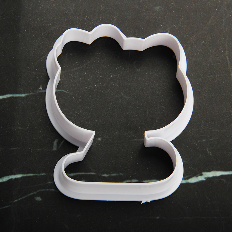 HB1101V Plastic Hello Kitty Shapes Cake Fondant Press Molds set