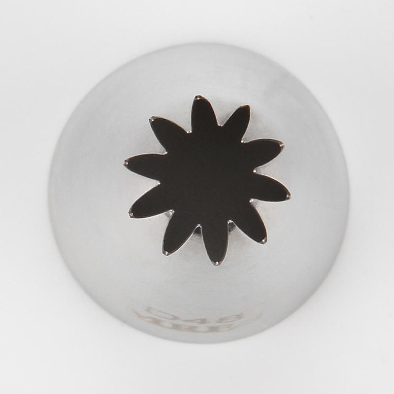 HBD48  Medium Closed Star Flower Tips