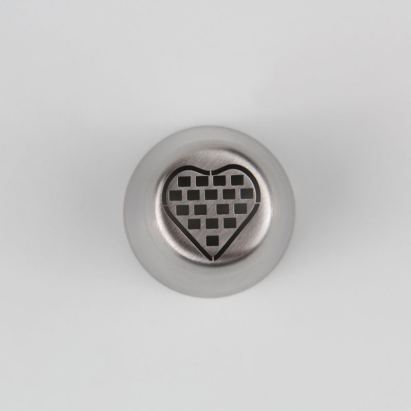 HBVD003 New Valentine's Day Theme Stainless Steel Cake Decorating Nozzle-Love Heart Design