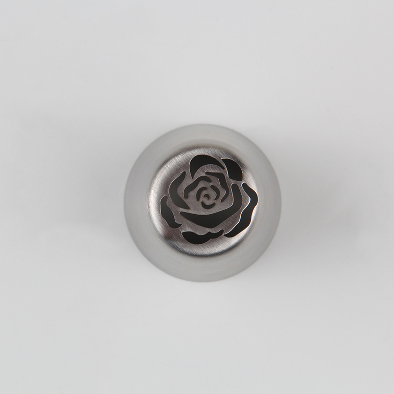 HBVD007 New Valentine's Day Theme Stainless Steel Cake Decorating Nozzle-Rose Design