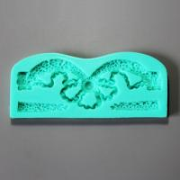 HB0930 New Pretty Flower veined silicone cake fondant mold