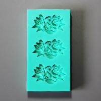 HB0879 New Peony Flowers silicone cake decoration fondant mold