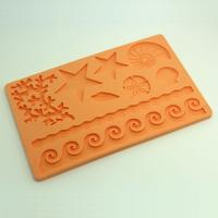 HB0549 Sea Adventure Silicone Cake Fondant Decoration Mold