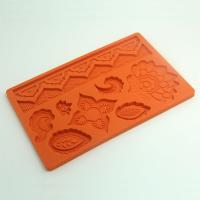 HB0540 Multiple Flowers Silicone Fondant Decoration Mold