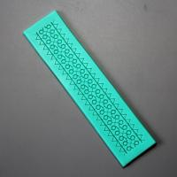 HB0910 Silicone veined mold for cake fondant decoration