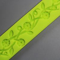 HB0811 3D non stick sugarcraft silicone mold for cake fondant decorating high temperature resistant