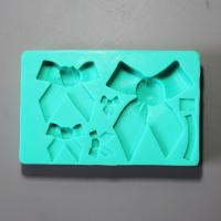 HB0868  Bowtie silicone mold for cake fondant decoration